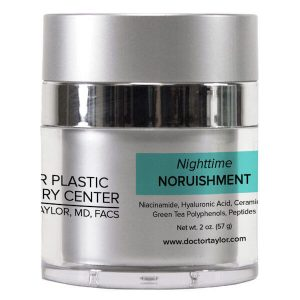 Taylor Plastic Surgery Center Skincare: Nighttime Nourishment